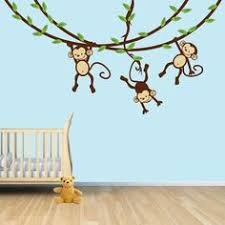 Monkey Nursery Wall Decals Tree Wall Decal With Monkeys Best Popular Tree Monkey And