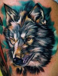 Japanese Wolf Tattoo For Men()