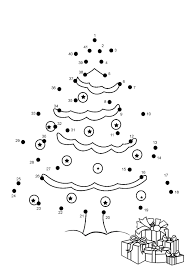 christmas dot to dot worksheets 1 10 snowman happy dot to