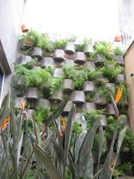 Garden Wall Decoration Ideas Decorating Garden Walls Landscape Tropical With Concrete Planter