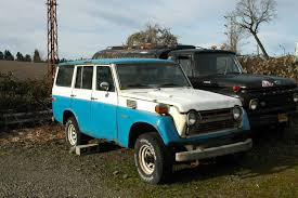 classic toyota land cruiser old parked cars 1978 toyota land cruiser