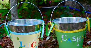 easter pails paper wings easter pails