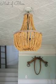 decor amazing diy beaded chandeliers nest of bliss in natural