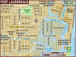 map of ft lauderdale map of fort lauderdale