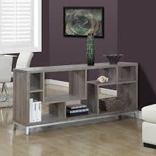 mansa taupe monarch tv stand room divider tv console