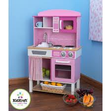 cuisine en bois fille kidkraft cuisine enfant familiale en bois achat vente dinette