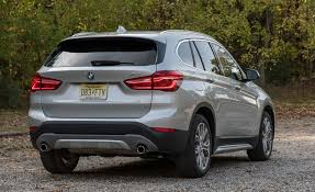 bmw x1 storage capacity 2018 bmw x1 in depth model review car and driver