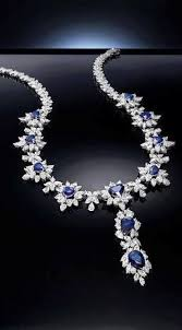 sapphire necklace diamonds images Beautiful jewelry sapphires pinterest jewelry sapphire jpg