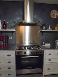 cuisine avec gaziniere gazinière hotte et plaque inox photo 9 13 3511771