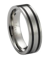 titanium mens rings men s titanium ring in satin finish 6mm just men s rings