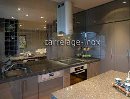 carrelage credence cuisine design tile mirror polished stainless steel mosaic credence cuisine