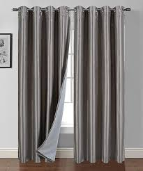 picture of heavy set women in a two piece bathing suit sally textiles silver cynthia heavy blackout curtain panel set of
