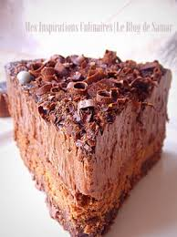 comment cuisiner un gateau au chocolat gateau mousse au chocolat comme un trianon le cuisine de samar