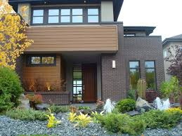 exterior paint with red brick ideal siding color with redorange