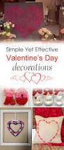 simple yet effective diy valentine u0027s day decorations