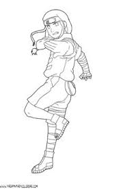 naruto coloring pages print lineart chibi u0027s