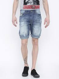 American Flag Jean Shorts Men Shorts Buy Shorts Online In India At Best Price