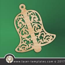 laser cut christmas trees u0026 decor templates download vector