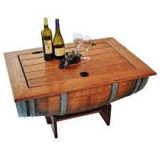 Wine Coffee Table Oak Barrel Coffee Table Wine Barrel Coffee Table Diy Mcclanmuse Co