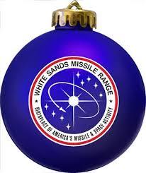 military insignia logo christmas ornament
