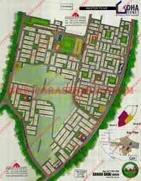 Islamabad Map Dha Valley Islamabad Paras Estates