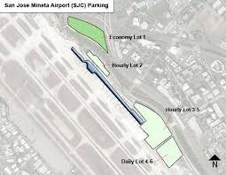 san jose airport on map san jose mineta airport parking sjc airport term parking
