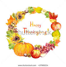 thanksgiving wreath stock images royalty free images vectors