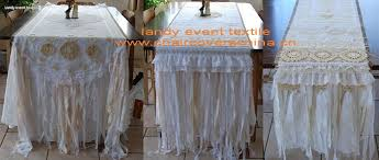 shabby chic table runner overlay runner products