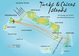 islands map turks and caicos islands maps providenciales provo