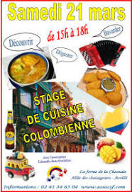 stage de cuisine colombie sans frontières cours de cuisine
