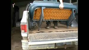 bed of truck how to mount a mud truck rear removable seat youtube