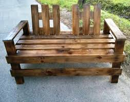Wooden Pallet Bench Wooden Pallet Patio Furniture Set Pallet Furniture Diy