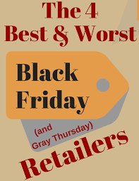 countdown to thanksgiving thursdays 4 best and worst black friday