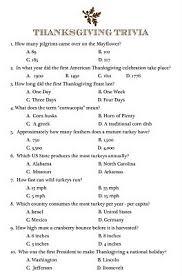 printable thanksgiving trivia 25 questions happy thanksgiving