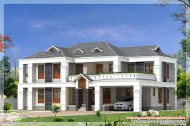 4 bedroom house plans in kerala double floor