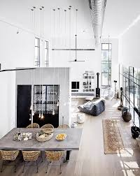 3 Stylish Industrial Inspired Loft Loft Apartment Tumblr I Love Lofts Pinterest Lofts