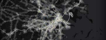 Boston Hubway Map by Sasaki