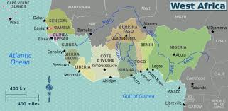 africa map senegal west africa wikitravel