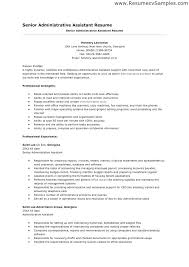 resume exles administrative assistant objective for resume resume administrative assistant objective foodcity me