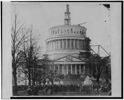 presidential inaugurations u s capitol historical society the unfinished capitol on inaugural day in 1861 library of congress