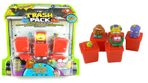 trash pack toys unboxing video