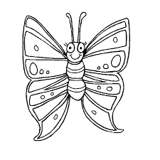 free printable butterfly coloring pages for kids coloring home