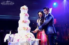 wedding cake cutting glamorous sikh wedding stunning asian wedding cake in london