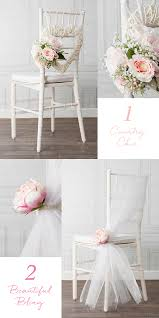 chair decorations 8 beautiful diy wedding chair decorations