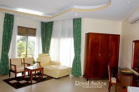 livingroom suites one bedroom suites at royal suites hotel uganda