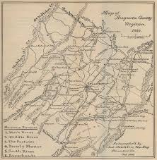 Virginia County Maps by Maps In Waddell U0027s Annals Of Augusta County Virginia Online At