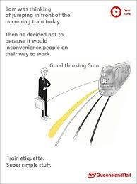 Queensland Rail Meme - queensland rail etiquette posters know your meme