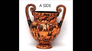 Ancient Greek Vase Painting Ancient Greek Pottery Francois Vase Black Figure Pottery Youtube