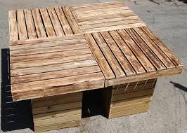 Patio Table Diy Outdoor Pallet Patio Table Pallet Furniture