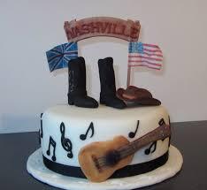 country music themed cake baking pinterest music themed